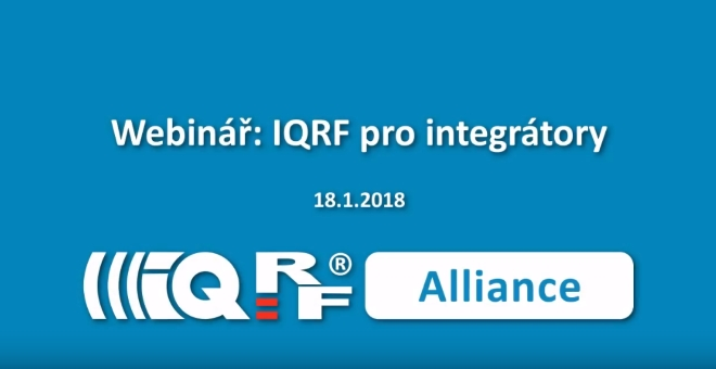 IQRF webinar
