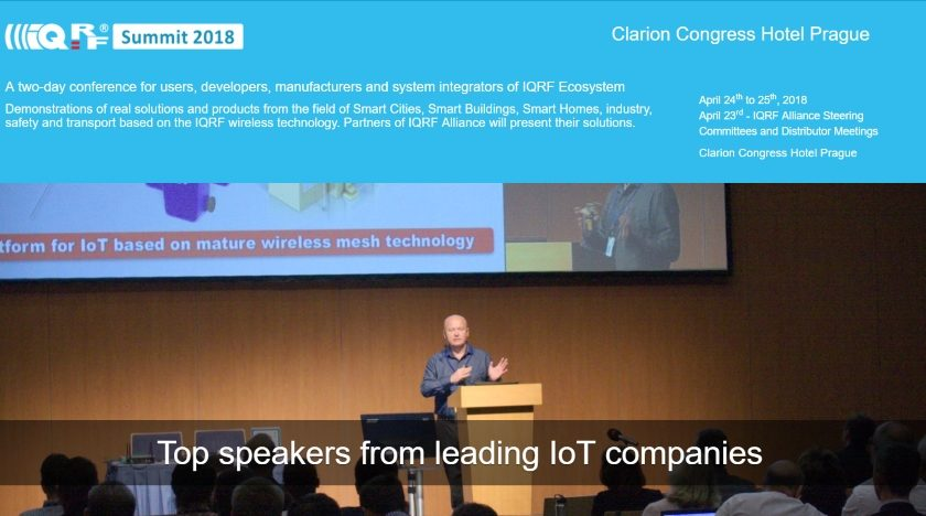 IQRF Summit 2018