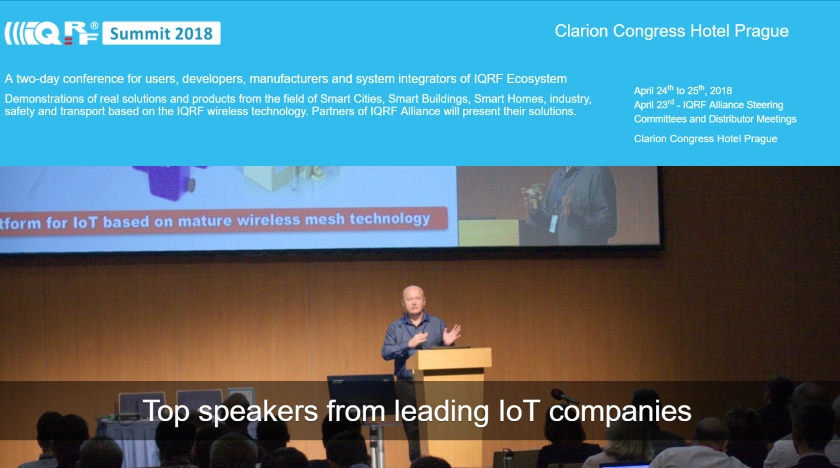 IQRF Summit 2018