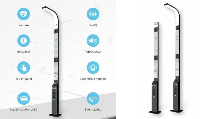 Chytré veřejné osvětlení