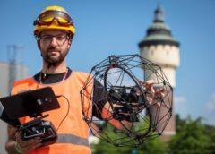 inspekce pomocí dronů