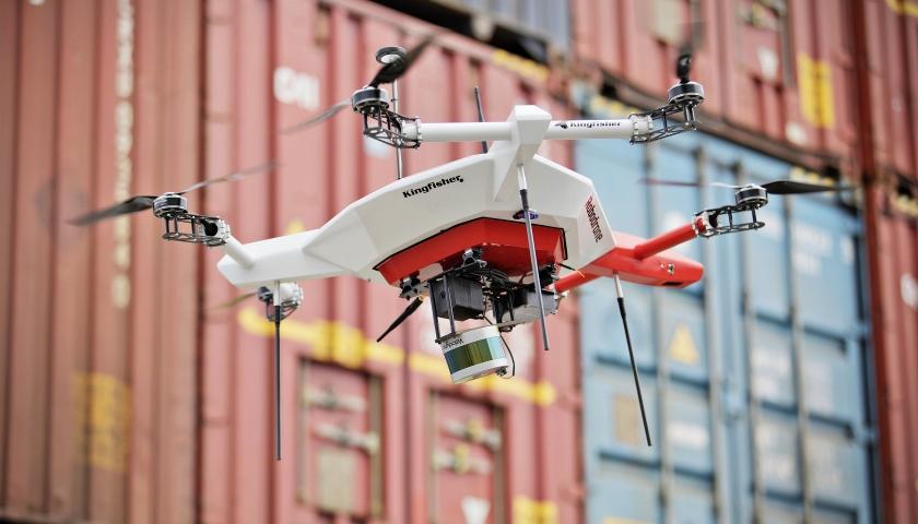 Škodovka testuje autonomní dron v oblasti logistiky