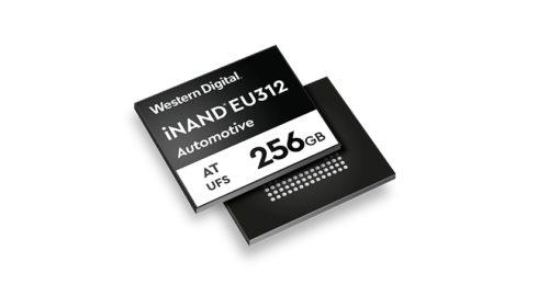 Flash pamět EFD 3D NAND pro využití v automobilovém průmyslu
