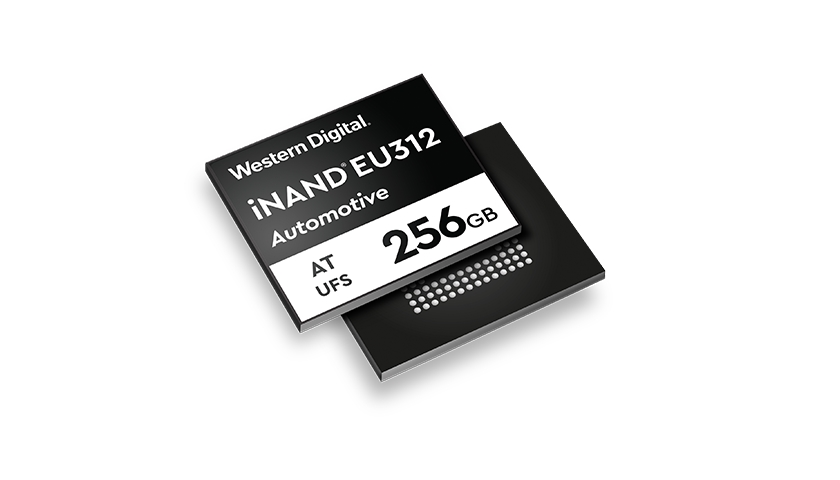 Flash pamět EFD 3D NAND