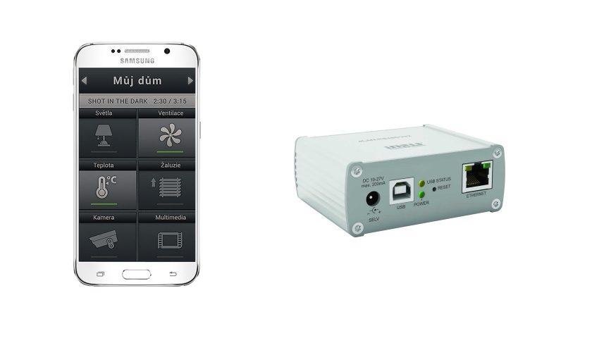 převodník signálu eLAN-RS485-232