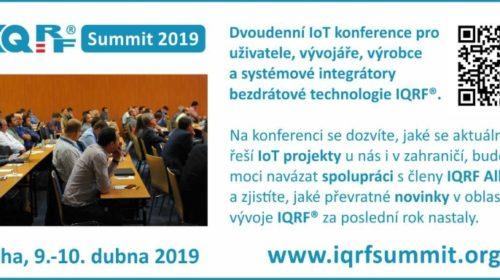 Pozvánka na IQRF Summit 2019