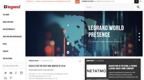 Legrand koupil Netatmo