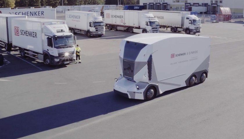 autonomní elektrický nákladní vůz T-pod