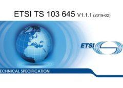 ETSI TS 103 645