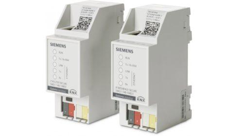 Nová komunikační zařízení ve standardu KNX IP Secure