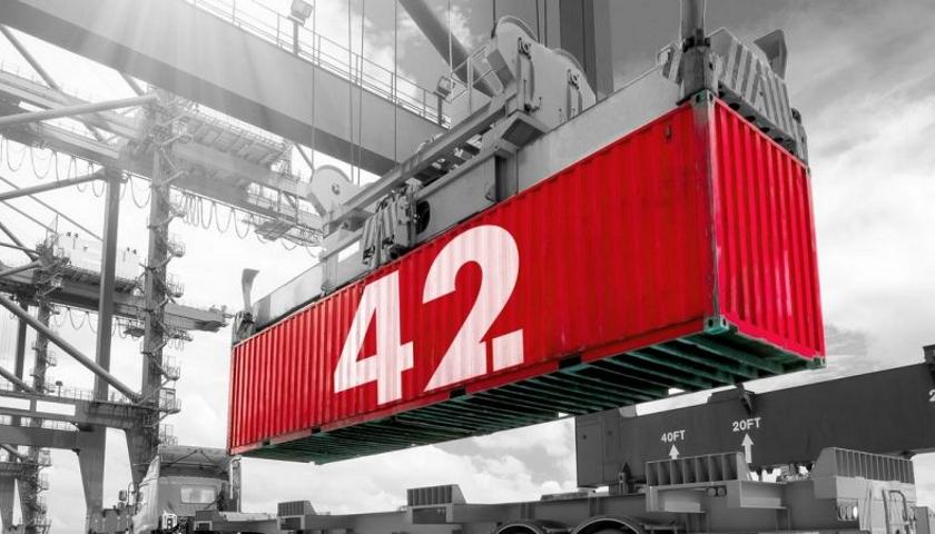 Container 42 Rotterdam