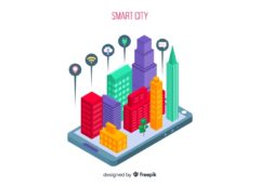 Freepik smart city colors