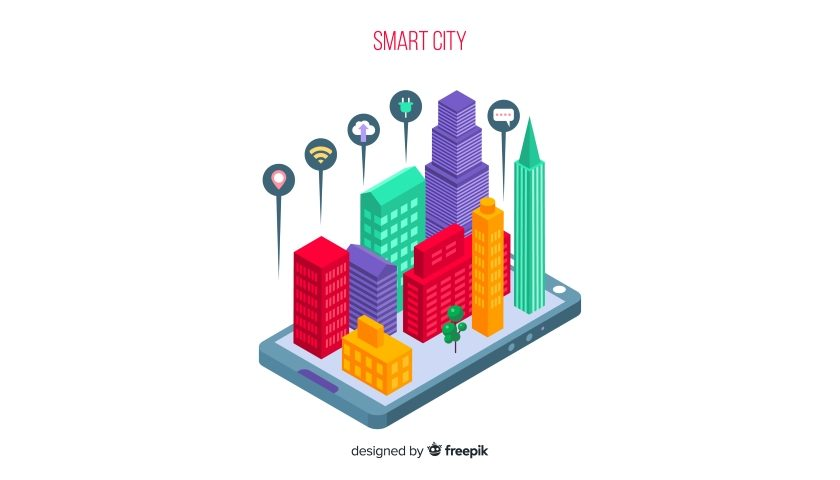 Freepik smart city colors