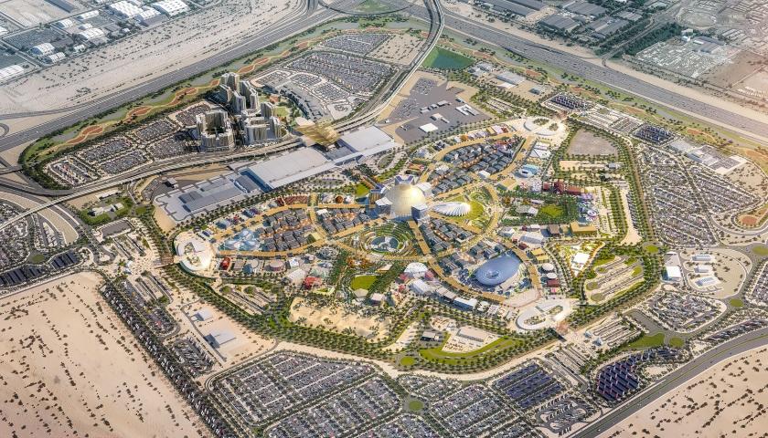 Připojte stránky v Dubaji
