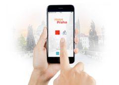 mobilní aplikace Moje Praha