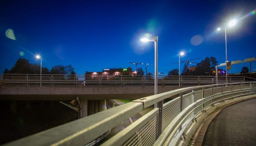 Tampere testuje inteligentní osvětlení