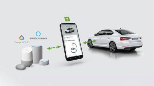 ŠKODA Connect umožňuje zjišťování dat a informací o voze