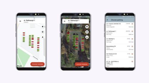 Aplikace na hledání parkovacích míst se dokáže propojit s jakoukoli kamerou na trhu