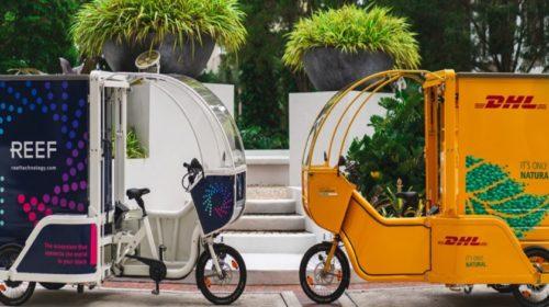 Centrum Miami používá ekologicky šetrná kola