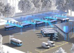 Leipzig electric buses