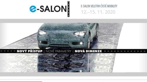 Veletrh čisté mobility – e-SALON 2020