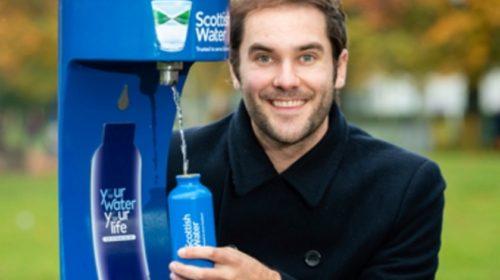 Scottish Water šetří plasty
