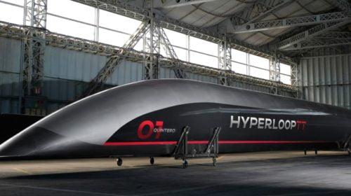 Železniční společnost investuje do Hyperloop Transportation Technologies