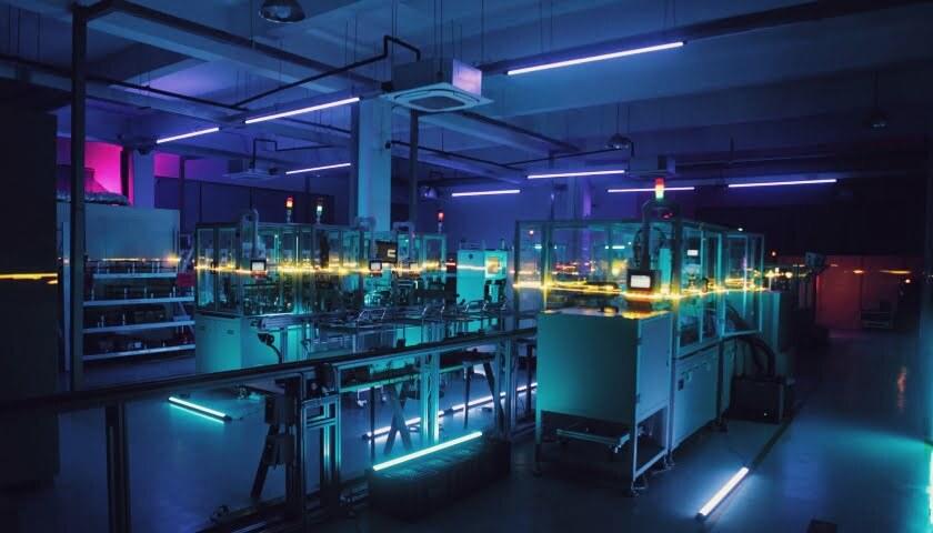 Inteligentní továrna Smart Factory