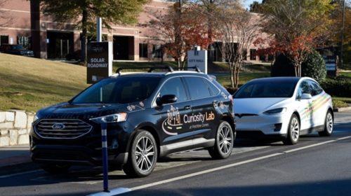 Peachtree Corners představuje solární vozovky