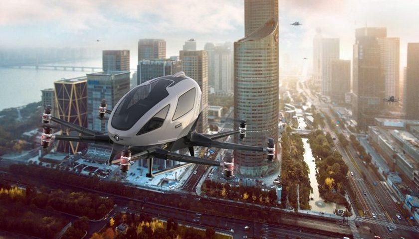 aerotaxi smart city