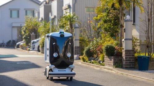 V Japonsku zkouší robotického pošťáka