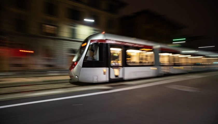 Hitachi Rail tram Florence